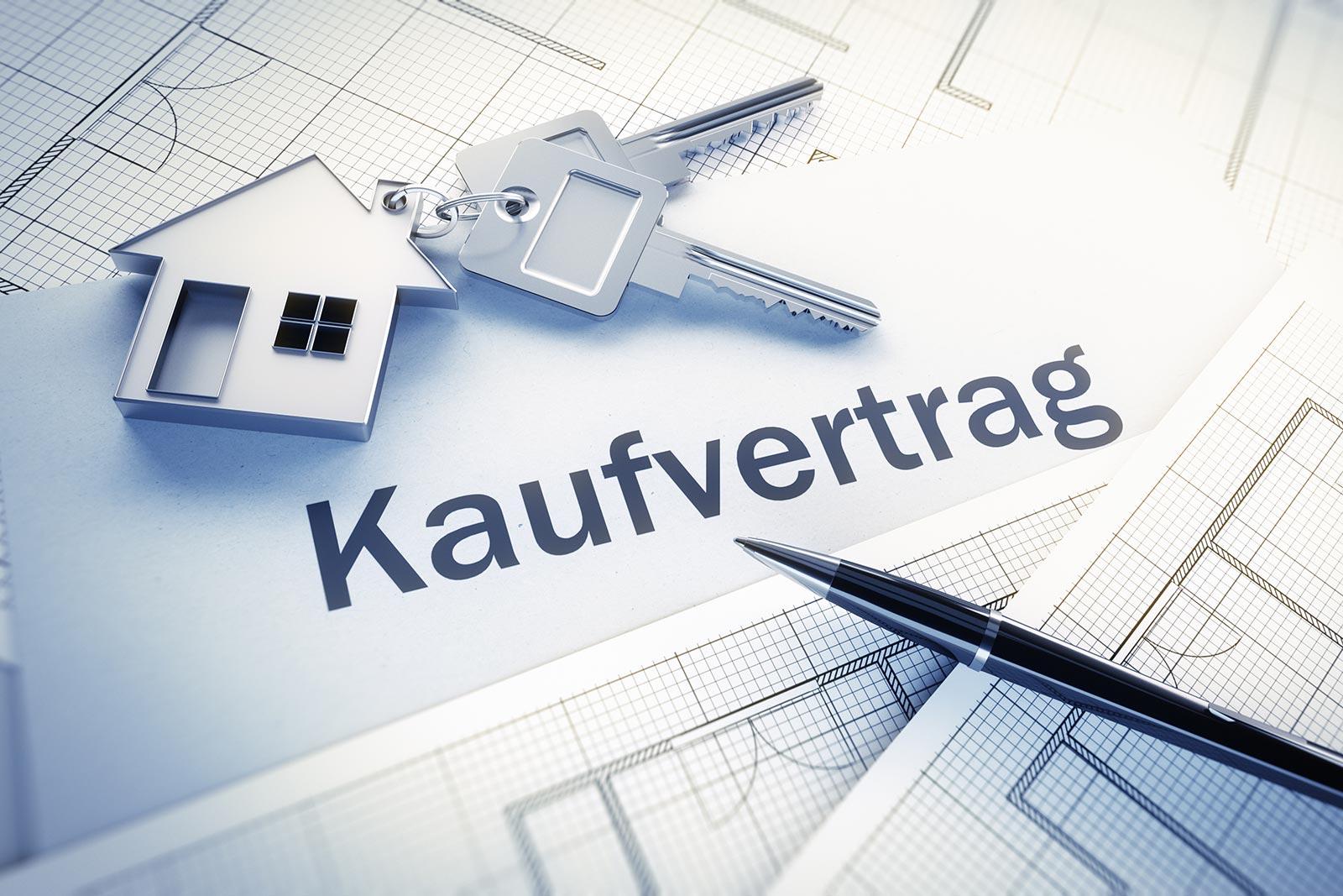 Kaufvertrag für Immobilien